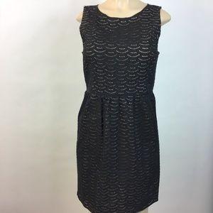 Ann Taylor LOFT Black Sleeveless Dress 8